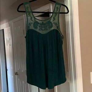 American Eagle soft & sexy lace tank top